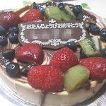 nico - チョコマーブルチーズケーキ