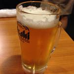 穴場 - 生ビール