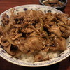 ぼちぼち - 料理写真:豚丼です。
