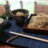 亀徳泉 - 料理写真:十割そばとわらびのひたし