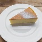 ゼロハチコーヒー - チーズケーキアップ