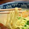 明石食堂 - 料理写真:丸い麺