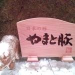 豚肉創作料理 やまと - 黄金の豚