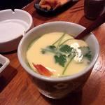 おかめ寿司 - 茶碗蒸し