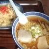 いずみ食堂 - 料理写真:いずみ食堂@十和田 ラーメンチャーハンセット