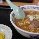 味乃やまびこ - ヤッホーセット 醤油ラーメン