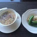 チャイナシャドー - 蟹肉とじゅんさいのスープ