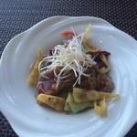 チャイナシャドー - 炙り鰹の中華風サラダ