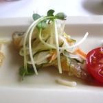チャイニーズ 芹菜 - 前菜(アジの南蛮漬け)