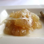 チャイニーズ 芹菜 - 前菜(クロクラゲ)