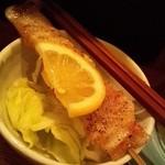 長五郎 - 豚バラ 塩こしょう(¥190)