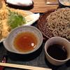 そば打ち 松林 - 料理写真:十割蕎麦と天ぷら盛り合わせ。1830円。かなりいい感じです。