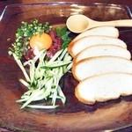 小樽食堂 - 熟成ユッケ
