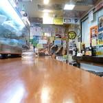 全国珍味・名物 難波酒場 - 2014.07 カウンターのみのお店、10人ちょっとで一杯かな?