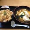 朝比奈食堂 - 料理写真:親子丼 ラーメンセット