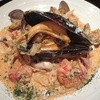 食堂 コラボ - 料理写真:海の幸のトマトクリームパスタ