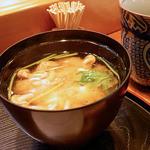 江戸前 寿し政 - ランチのお味噌汁