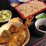 そば処 あおき - 料理写真:ミニ天丼セット