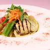 カバルッチョベルデ - 料理写真:<夏野菜の冷製フェデリーニ>