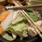 しゃぶしゃぶ温野菜 - 野菜盛り
