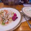ゴールド - 料理写真:1)クリームシチュー+バターライス(1,000円)