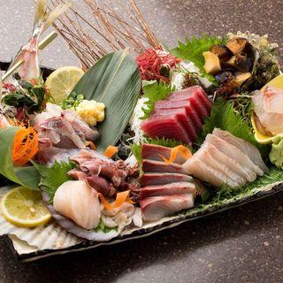 新鮮な魚をお客様に