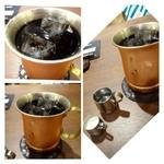 星乃珈琲店 - アイスコーヒー・・程良い苦みで美味しいアイスコーヒーです。