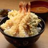 はちまき - 料理写真:エビ好きにはたまりません『海老天丼』