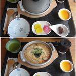和の湯 - とらふぐの唐揚げと雑炊。和(なごみ)の湯(静岡県袋井市)食彩品館.jp撮影