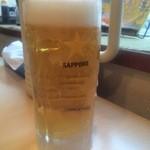 北海道唐揚げ えぞ丸 - 生ビール