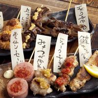 他では食べられないこだわりの『串蒸しand串焼き』