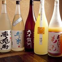 バリエーション豊かな日本酒たち