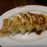蒲田刀削麺 - 焼餃子