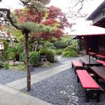 うどん本陣 山田家 - 庭園