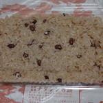 ナダシンの餅 - 赤飯450円 ※470gもある大サイズ 2014年6月