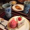 寿堤夢 - 料理写真:連れは「ジュテームセット(650円)」、私は「男前セット(850円)」に。ケーキのチョイスが全然男前ちゃいますがw