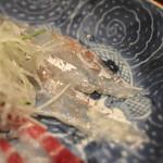 岩さき - お造り (グジ) (2014/06)