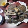萩の茶屋 - 料理写真:いろいろな貝を楽しめる!