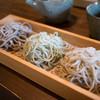 蕎麦 遊庵 - 料理写真:だし巻玉子セットの3色そば