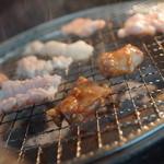 ホルモン 銀牙 - 料理写真:焼くべし焼くべし!!