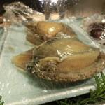 第三春美鮨 - 今日のテーマ、七ヶ浜の鮑。歩留まりが良く、ゼラチン質が出ている最上のもの