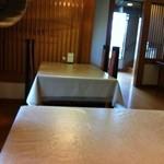 懐石一の瀬 - 禁煙テーブル席
