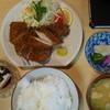 とんかつ世界 - 料理写真:チキンかつ。なんと今どきワンコインの500円 。