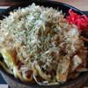 良平 - 料理写真:ホルモン焼うどん