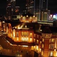 夜の東京駅がとても美景!