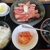 安楽亭 - 料理写真:中落ちカルビランチ540円