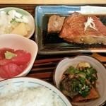 魚善 - 金目鯛の煮付け定食 1150円