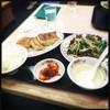 餃子の王将 - 料理写真:レバニラ定食 美味い‼︎