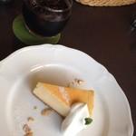 アロマコーヒーカフェ - バニラチーズケーキ❗️