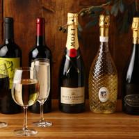 グラス10種!ボトル60種~のワインの品揃え!